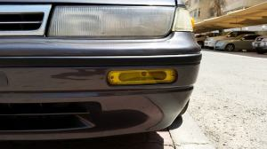 Custom acrylic amber turn signal covers
