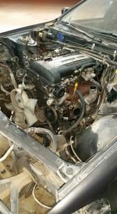 SR20DET fitted
