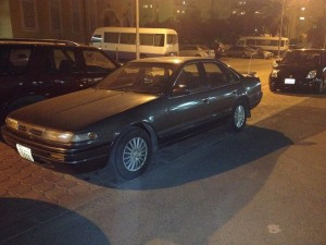 1992 Nissan A31 Laurel Altima LHD (export version of A31 Cefiro)