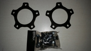 GKTECH 10mm axle spacers