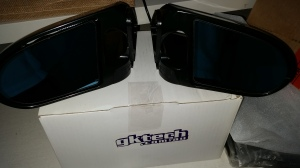 GKTECH blue tinted door mirrors