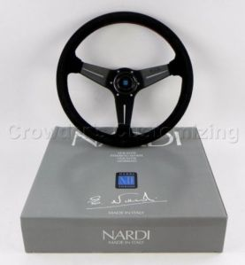 Nardi Deep Corn 350mm suede w/red sitiching