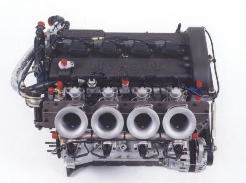 300HP NA SR20DE BTCC Engine Top View