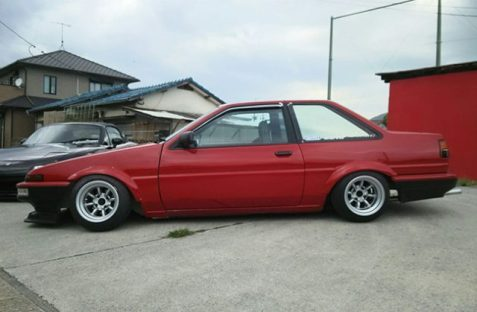 AE86 GT F and R 13-10 -32 Tires 175-60-13 view 2