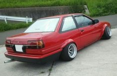 AE86 GT F and R 13-10 -32 Tires 175-60-13 view 3