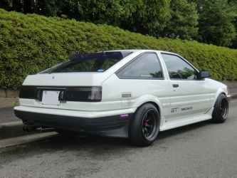 AE86 Levin GTV F and R 14-9.0 -19 Tires 175-60-14 view 3