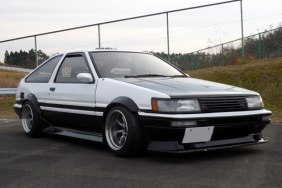 AE86 Levin Hatch Panda F and R 15-9.5 -19 Tires 205-50-15