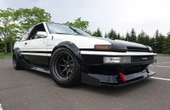 AE86 Sprinter Trueno Apex F and R R15-9.5 -19 view 2