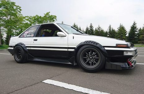 AE86 Sprinter Trueno Apex F and R R15-9.5 -19 view 3