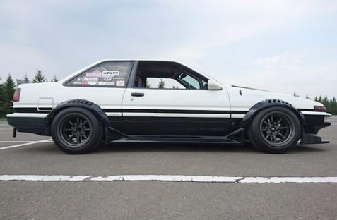 AE86 Sprinter Trueno Apex F and R R15-9.5 -19 view 4