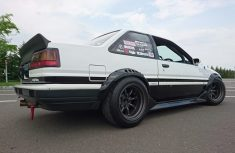 AE86 Sprinter Trueno Apex F and R R15-9.5 -19 view 5