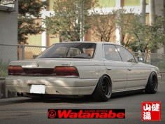 C33 FR15-9.0 offset -13 RR15-9.5 offset -19 Tires 195-50-R15 view 4_