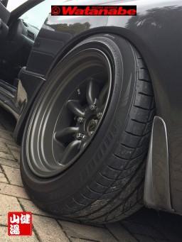 R32 GTR FR16-8.0 0 offset RR16-9.0 -13 offset Tires 225-50-16 view 6_