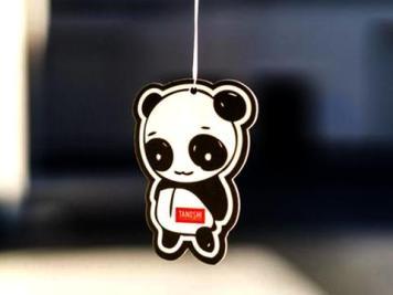 Tanoshi Panda Air Freshener