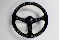 Vertex Hells Racing Gold and Silver