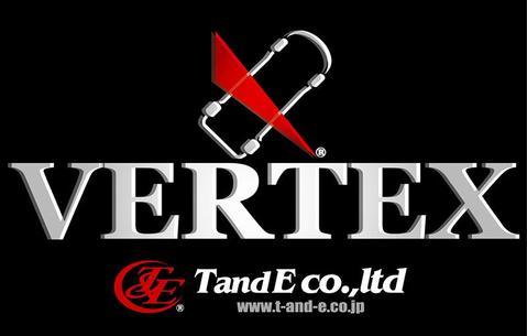 Vertex TandE logo