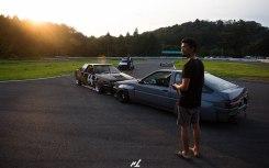 Ishikawa-san with AE86 Levin and Coupe