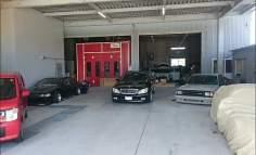 Nice new garage